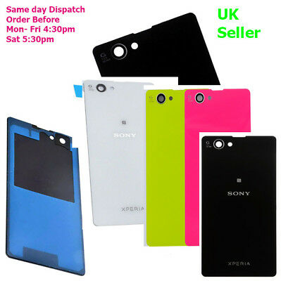 Sony Xperia Z1 Compact Z1 Mini D5503 Battery Back Cover Housing case + adhesive