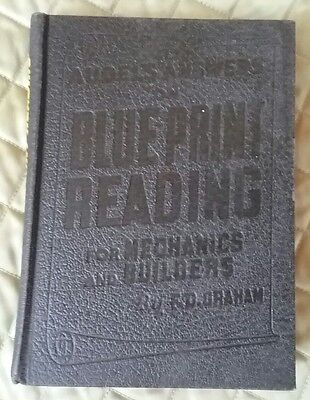 Audels Answers on Blue Print Reading for Mechanics and Builders F D Graham 1953