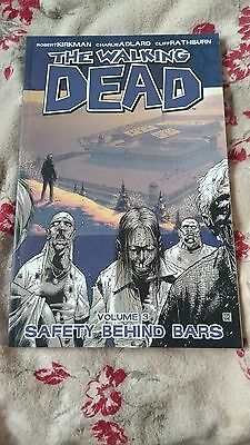The Walking Dead Volume 3 Graphic Novel Safely Behind Bars Robert Kirkman