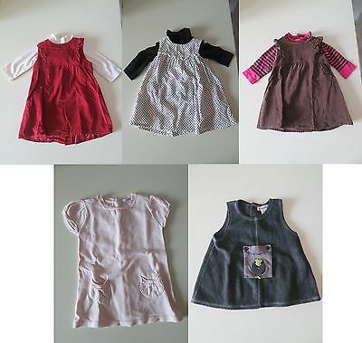 Lot Robes Hiver Bebe Fille 6 Mois