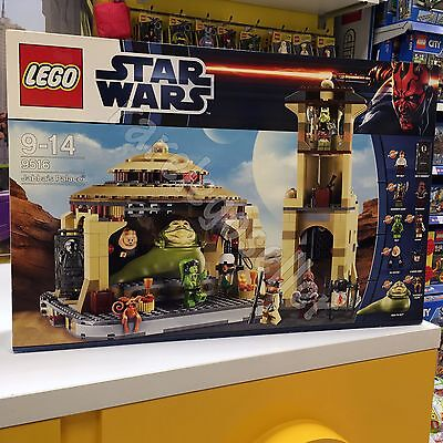 LEGO Star Wars 9516 Jabba Palace new factory sealed set in new condition