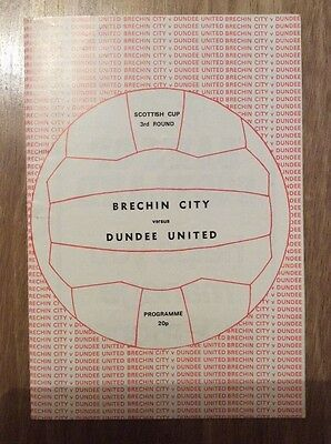 Brechin City Dundee United 1981
