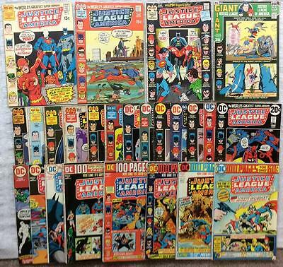 MASSIVE COLLECTION JUSTICE LEAGUE OF AMERICA 102 X issues #89 - #200 (1971) WOW!