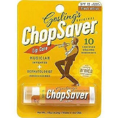 Chopsaver Gold with SPF Musicians Natural Lip Balm - Orange Packet