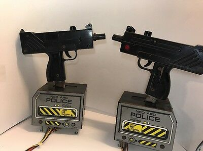 Steel Gunner 2 / Operation Thunderbolt Arcade Gun *Working Pulls* As Is Arcade