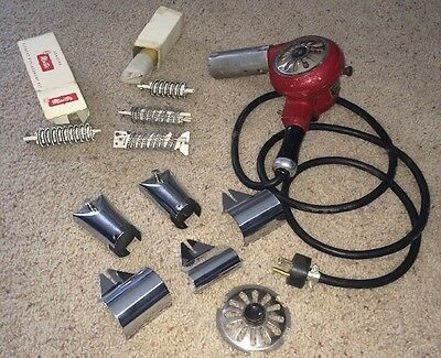 Electric Industrial Master Heat Gun + Large Lot Parts Element Tip
