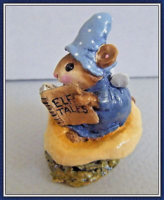 Wee Forest Folk Elf Tales (blue) - M-163 - Retired