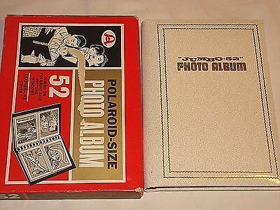 Vintage 52 JUMBO or POLAROID Size Picture Windows Photo Album - New in Box