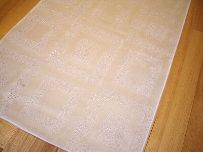 Hallway Runner Hall Runner Rug 3 Metres Long Modern Cream FREE DELIVERY