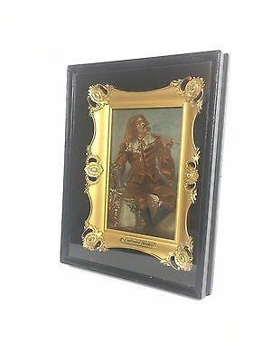 Exquisite Antique Gold Gilt Victorian Frame in Shadow Box Oil Painting - RARE