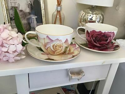 Brand new T2 fine bone china extra large tea sets roses high tea hens party