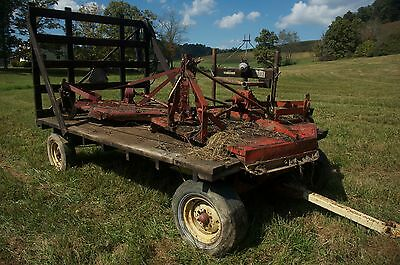 Used New Holland hay Wagon w extra tires