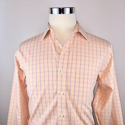 Brooks Brothers Non Iron Button Front Dress Shirt Mens 15.5 34/35