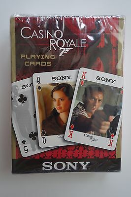 James Bond 007 Rare Sony Casino Royale Playing Cards Promotional NEW