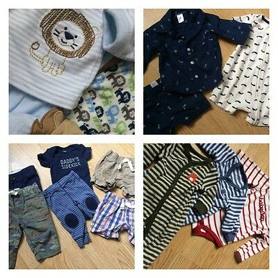 INFANT BOYS SIZE 3-6 MONTHS 3 months baby gap carters baby lot 6 months WHALE