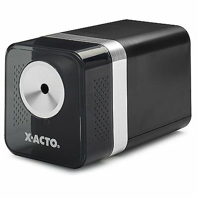 X-ACTO Power3 Office Electric Pencil Sharpener, Black, Wide Use, Environment