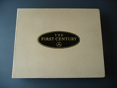 Rare Limited Edition Mercedes-Benz Book THE FIRST CENTURY Signed & Numbered