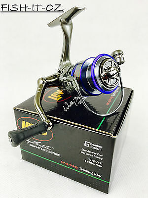 Lew's Wally Marshall Fishing Spinning Reel 5+1 Ball Bearing Wsp75