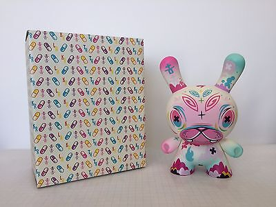 """Kidrobot Dunny 8""""  Painkiller by Thomas Han Mint Condition"""
