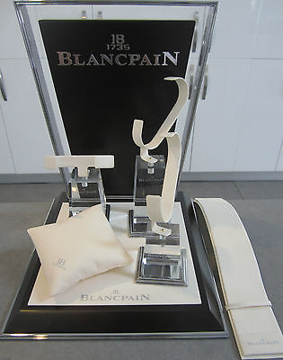 Genuine Blancpain Complete Multiple Wrist Watch & Chronograph Display Set #5011S