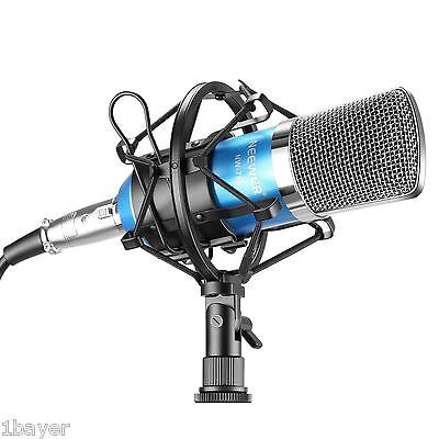 Neewer Studio Broadcasting Voice Audio Music Recording Condenser Mic Microphone
