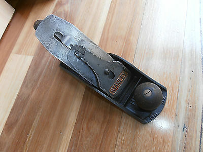 Vintage Stanley Bailey No 4 1/2  Smoothing Wood Plane made in England