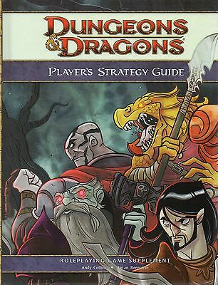 Dungeons & Dragons-D&D-PLAYER´S STRATEGY GUIDE-RPG-Rolplaying Game-(HC)-new
