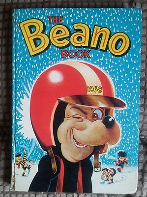 Beano Annual 1968 - Good Condition (BW33)