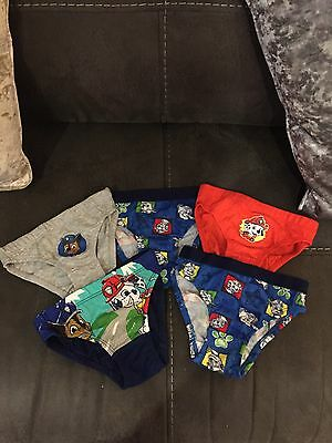 Boys Paw Patrol Pants Set Of 5 Age 18-23 Months New Without Tags