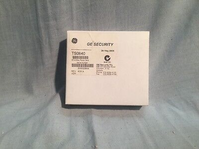Tecom challenger TS0840 4 Way Relay Card New In Box