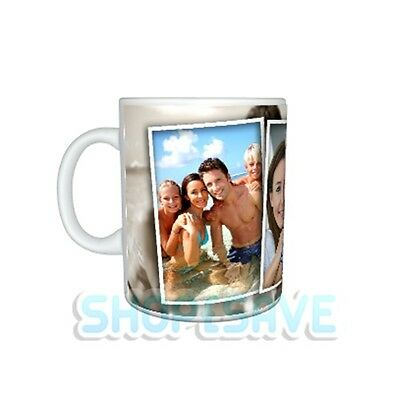 Personalised Photo Collage Effect 11oz Large Handle Mug