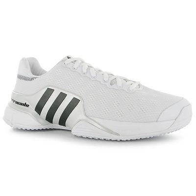 Adidas Barricade Grass Court Tennis Shoe White  2017