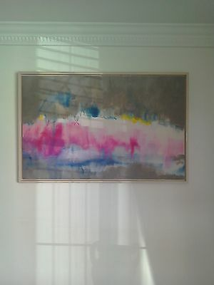 Stunning John Lewis Abstract Painting.