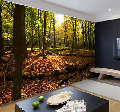 Hudson Valley Forest Full Wall Mural Photo Wallpaper Print Kids Home 3D Decal