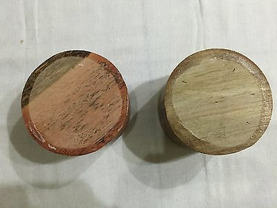 2 Pieces Hardwood Turning Bowl Blanks  (set 10)