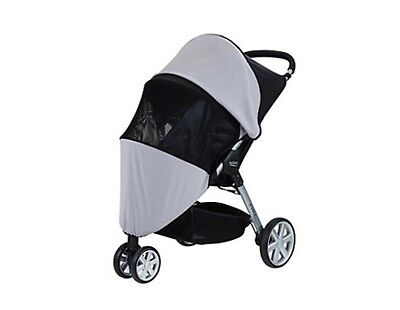 Britax B-Agile Sun And Bug Stroller Cover UV Ray/ Mosquito Net