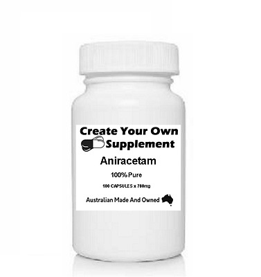 Aniracetam - 780mg Capsules - 100% Pure - No Fillers - Best Value & Quality