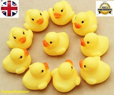 10 Best Bath Fun Floating Yellow Kids Duck Toys Water Best Quality Rubber Ducks