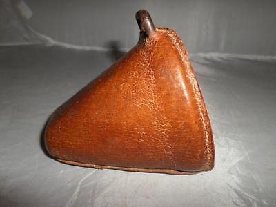 Antique Pigskin Leather Clad Side Saddle Slipper/Stirrup- Equestrian Collectable