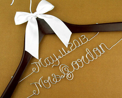Personalized wedding Hanger,brides bridesmaid gifts name hanger bride hanger