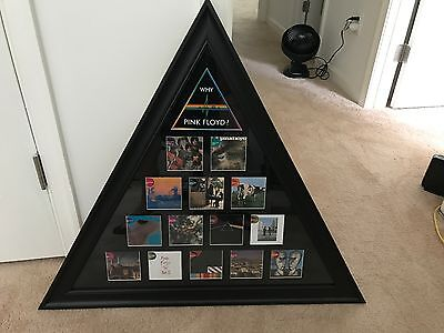 Pink Floyd music memorabilia framed album covers RARE
