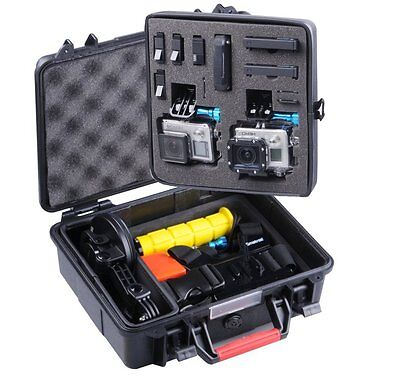 Smatree Waterproof ABS Hard Carrying Case for GoPro Hero 5 4 3+ 3 Camera