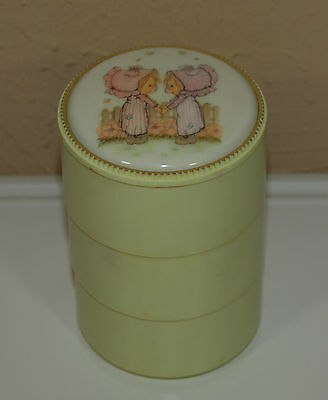 Vintage Hallmark Betsey Clark STACKING BOX Desk Accessory