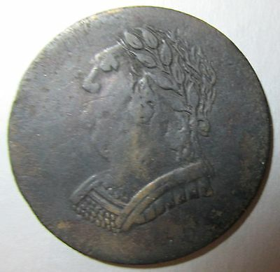 Canada Pre Confederation 1820 Bust and Harp Token Canadian Imitation?