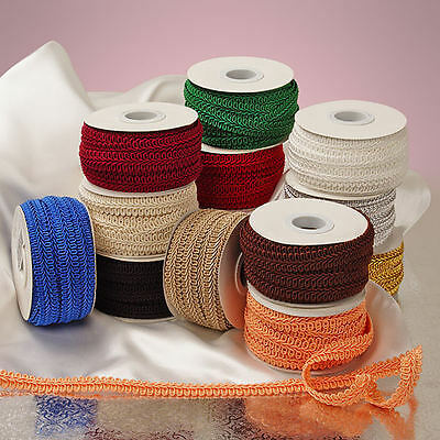 Gimp Braid Trim 5/8 inch wide  price for 10 yard  - select color