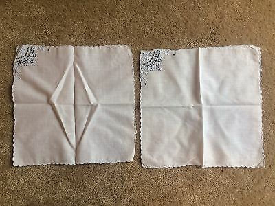 Pair Of Vintage Hankies