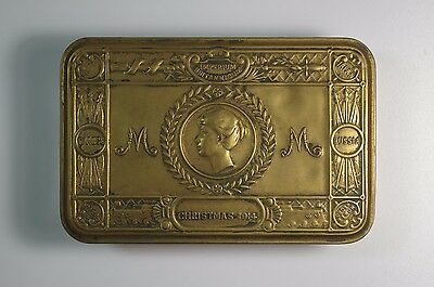 Boite Tabac Ancienne Guerre Soldat Christmas 1914 Princess Mary Tobacco Box