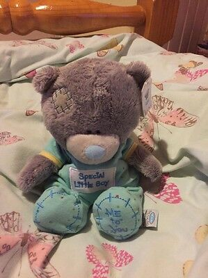 Carte Blanche Me To You Blue Nose Teddy Soft Toy Special Little Boy