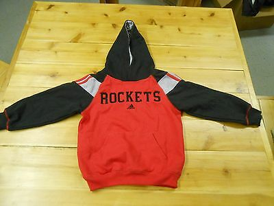 Youth Adidas Rockets Hoody Sweatshirt Size Large 7