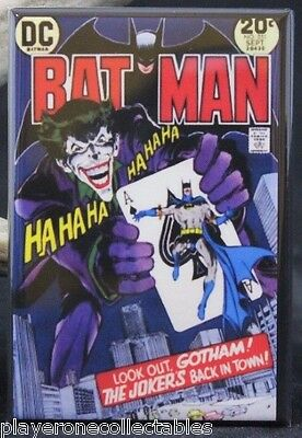 "Batman Comics #251 Comic Cover 2"" X 3"" Fridge / Locker Magnet. The Joker!"